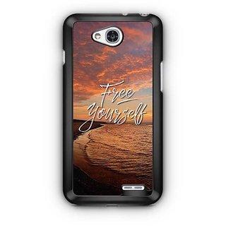YuBingo Free Yourself Designer Mobile Case Back Cover for LG L90