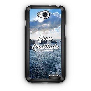 YuBingo Grow Gratitude Designer Mobile Case Back Cover for LG L90
