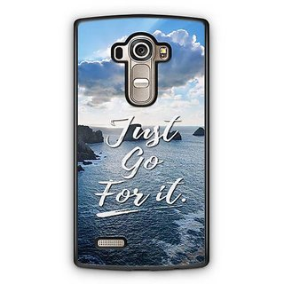 YuBingo Just Go For It Designer Mobile Case Back Cover for LG G4