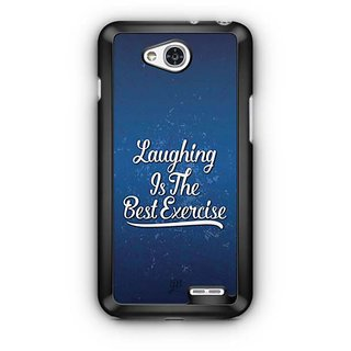YuBingo Laughing is the Best Exercise Designer Mobile Case Back Cover for LG L90