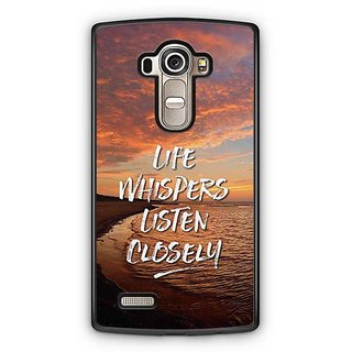 YuBingo Life Whispers. Listen Carefully Designer Mobile Case Back Cover for LG G4