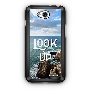 YuBingo Look Up Designer Mobile Case Back Cover for LG L90