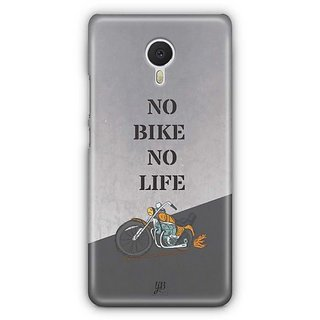 YuBingo No Bike No Life Designer Mobile Case Back Cover for Meizu M3 Note