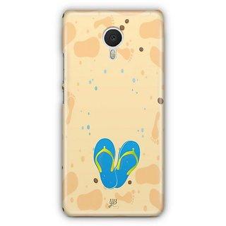 YuBingo Slippers on Beach Designer Mobile Case Back Cover for Meizu M3 Note