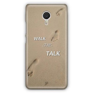 YuBingo Walk the Talk Designer Mobile Case Back Cover for Meizu M3 Note