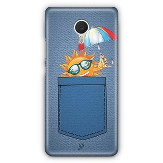 YuBingo Sun in Jeans Designer Mobile Case Back Cover for Meizu M3 Note