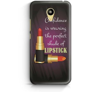 YuBingo Perfect Shade of Lipstick Designer Mobile Case Back Cover for Meizu M3