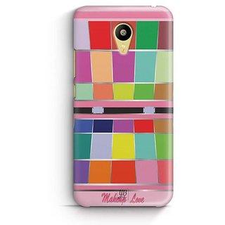 YuBingo Makeup Love Designer Mobile Case Back Cover for Meizu M3