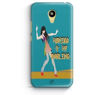 YuBingo Monika 'O' My Darling Designer Mobile Case Back Cover for Meizu M3