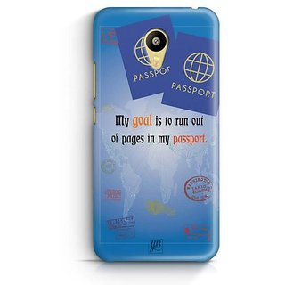 YuBingo Travel the World Designer Mobile Case Back Cover for Meizu M3