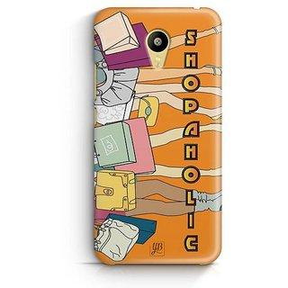 YuBingo Shopaholic Designer Mobile Case Back Cover for Meizu M3