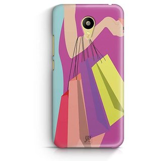 YuBingo Shopping Bags Designer Mobile Case Back Cover for Meizu M3