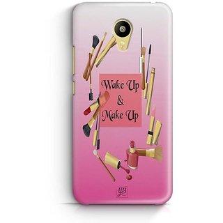 YuBingo Wake Up & Make Up Designer Mobile Case Back Cover for Meizu M3