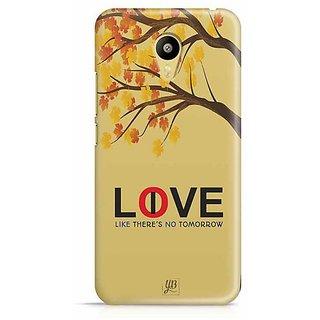 YuBingo Love / Live Like There's No Tomorrow! Designer Mobile Case Back Cover for Meizu M3