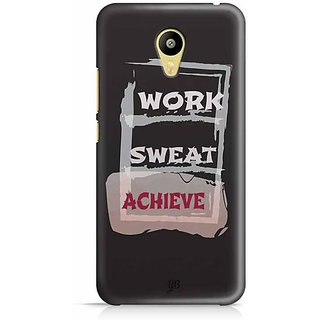 YuBingo Work, Sweat, Achieve Designer Mobile Case Back Cover for Meizu M3