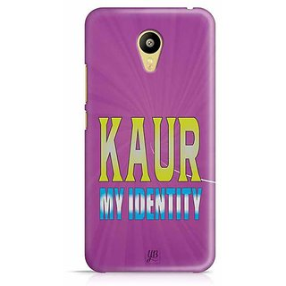 YuBingo Kaur, My Identity Designer Mobile Case Back Cover for Meizu M3