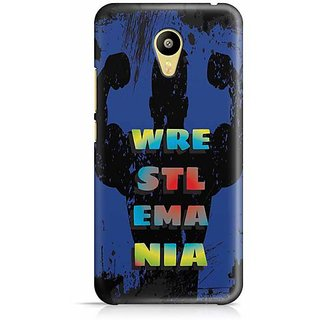 YuBingo Wrestlemania Designer Mobile Case Back Cover for Meizu M3