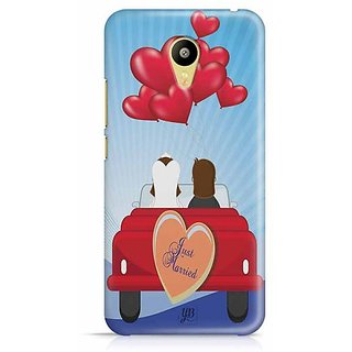 YuBingo Just Married Designer Mobile Case Back Cover for Meizu M3