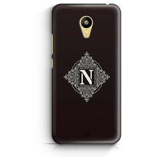 YuBingo Monogram with Beautifully Written letter N Designer Mobile Case Back Cover for Meizu M3