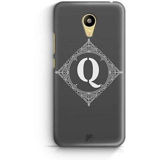 YuBingo Monogram with Beautifully Written letter Q Designer Mobile Case Back Cover for Meizu M3