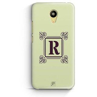 YuBingo Monogram with Beautifully Written letter R Designer Mobile Case Back Cover for Meizu M3