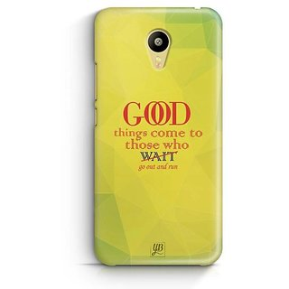 YuBingo Go out and Run Designer Mobile Case Back Cover for Meizu M3