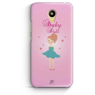 YuBingo Baby Doll Designer Mobile Case Back Cover for Meizu M3