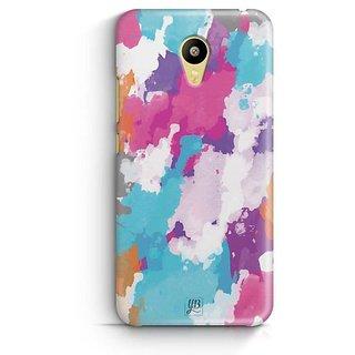 YuBingo Colourful Canvas Designer Mobile Case Back Cover for Meizu M3