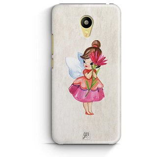 YuBingo Loving Fairy Designer Mobile Case Back Cover for Meizu M3