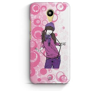 YuBingo Girl with a Swag Designer Mobile Case Back Cover for Meizu M3