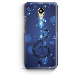 YuBingo Musical Note Designer Mobile Case Back Cover for Meizu M3