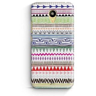 YuBingo Zig Zag Pattern Designer Mobile Case Back Cover for Meizu M3