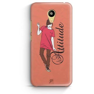 YuBingo Girl with an Smart Attitude Designer Mobile Case Back Cover for Meizu M3