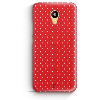 YuBingo Beautiful Dotted Pattern Designer Mobile Case Back Cover for Meizu M3