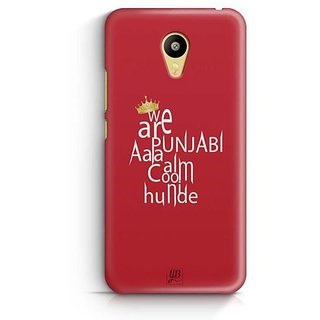 YuBingo We are Punjabi Designer Mobile Case Back Cover for Meizu M3