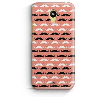 YuBingo Moustache Designer Mobile Case Back Cover for Meizu M3