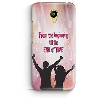 YuBingo From the beginning till the End of Time Designer Mobile Case Back Cover for Meizu M3