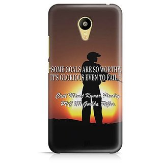 YuBingo Soldier Shooting Designer Mobile Case Back Cover for Meizu M3
