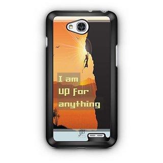 YuBingo I am up for Anything Designer Mobile Case Back Cover for LG L90