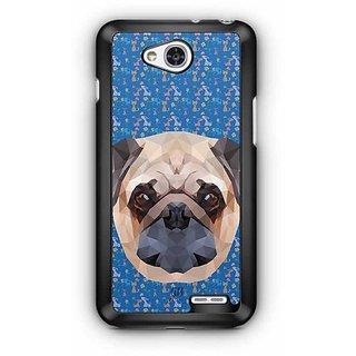 YuBingo The Bulldog Designer Mobile Case Back Cover for LG L90