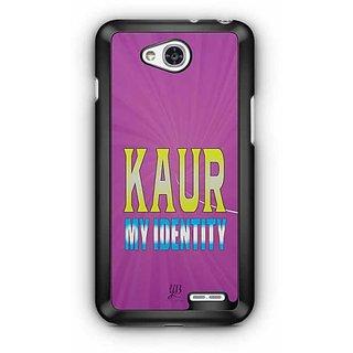 YuBingo Kaur, My Identity Designer Mobile Case Back Cover for LG L90