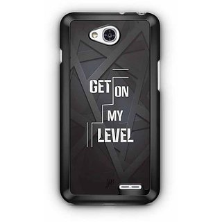 YuBingo Get on My Level Designer Mobile Case Back Cover for LG L90