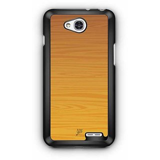 YuBingo Wood Finish (Plastic) Designer Mobile Case Back Cover for LG L90