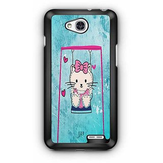 YuBingo Hello cat Designer Mobile Case Back Cover for LG L90