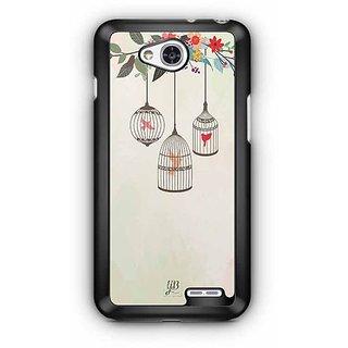 YuBingo Birds in Cage Designer Mobile Case Back Cover for LG L90