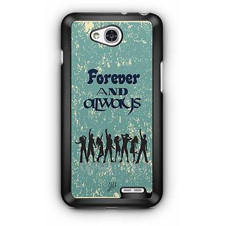 YuBingo Forever and Always Designer Mobile Case Back Cover for LG L90