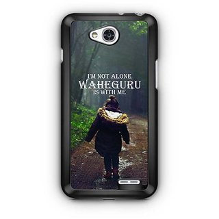 YuBingo Waheguru is with Me Designer Mobile Case Back Cover for LG L90