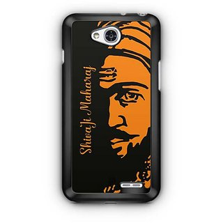 YuBingo Shivaji Maharaj Designer Mobile Case Back Cover for LG L90