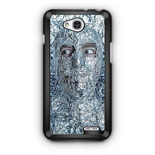 YuBingo Man covered with Aluminium Foil Designer Mobile Case Back Cover for LG L90