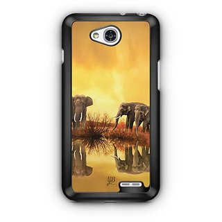 YuBingo Elephants Designer Mobile Case Back Cover for LG L90